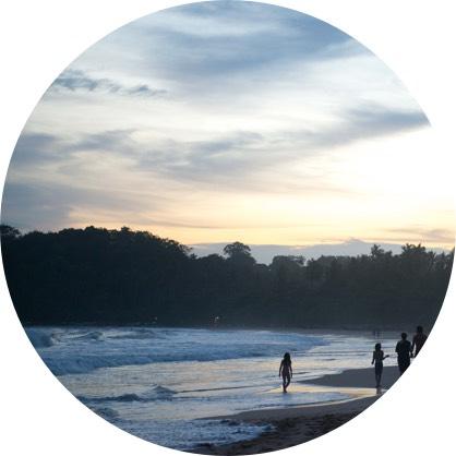 Sunset at Talalla Beach,Sri Lanka