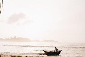 Local fisherman at Talalla Retreat