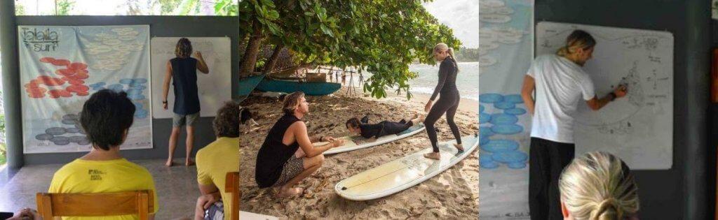 Surf Theory Sessions at Talalla Surf Sri Lanka header